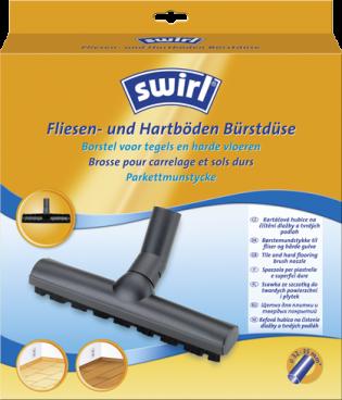 Swirl® Ακροφύσιο με βούρτσα για πλακόστρωτες ή laminate επιφάνειες